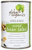 Global Organics Mixed Bean Salad 400gm