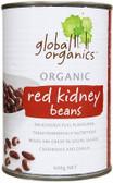 Global Organics Red Kidney Beans 400gm