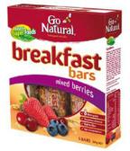 Go Natural Breakfast Bar Mixed Berries 200g
