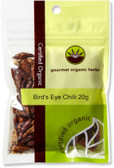 Gourmet Organic Birds Eye Chili 20g Sachet x 1