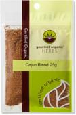 Gourmet Organic Cajun Blend 25g Sachet x 1