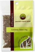 Gourmet Organic Caraway Seed 30g Sachet x 1