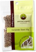 Gourmet Organic Coriander Seed 20g Sachet x 1