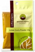 Gourmet Organic Curry Indian Powder 30g Sach x 1