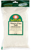 Lotus Macrobiotic Sea Salt  Fine 500gm