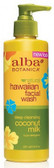Alba Hawaiian Coconut Milk Facial Wash 230ml