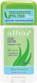 Alba Unscented Deodorant 55gm