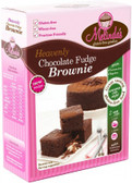 Melindas Choc Fudge Brownie GF Pre Mix 415gm
