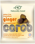 Naturally Good Carob And Ginger WF GF 125gm