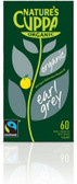 Natures Cuppa Org Earl Grey 60 Teabags