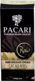 Pacari Organic Raw Drk Choc Covered Cacao Nibs 57g