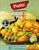 Pattu Aloo Mutter potato & green peas 285gm