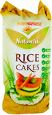 Pure Harvest GF Rice Cakes Natural 150g