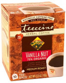 Teeccino Vanilla Nut Herbal Coffee 10 Tee-Bags