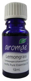 Aromae Lemongrass Essential Oil 12mL