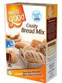 Well And Good Crusty Bread Mix 460g G Free