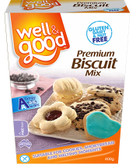 Well And Good Premium Biscuit Mix G/F 400gm