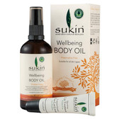 Sukin Wellbeing Body Oil & Free Lip Treatment