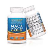 Maca Gold Organic Capsules 60Caps 550mg