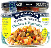 St Dalfour All Natural Ready to Eat Chicken and Vegetables Gluten Free in Glass 200g