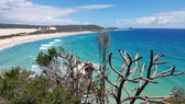 View from Indian Head Fraser Island