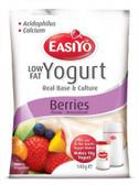 Easiyo Low Fat Berry Yoghurt Base 140gm