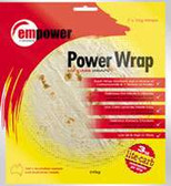 Empower Low Carb Tortilla Power Wraps 7 x 35g