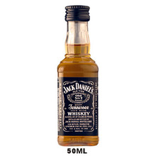 50ml Mini Jack Daniels Old No. 7 Tennessee Sour Mash Whiskey