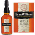 Evan Williams Vintage 2009 Single Barrel Kentucky Straight Bourbon Whiskey 750ml