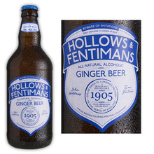Hollows & Fentimans All Natural Alcoholic Ginger Beer (England) 550ML