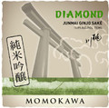 Momokawa Diamond Junmai Ginjo Medium Dry Sake US Rated 87