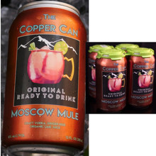 The Copper Can Moscow Mule 12oz 4 Pack Cans