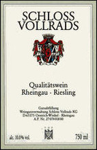 Schloss Vollrads Riesling QBA