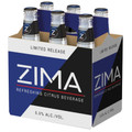 Zima Citrus Beverage 12oz 6 Bottles