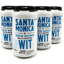 Santa Monica Brew Works Wit Modern White Ale 12oz 6 Pack Cans