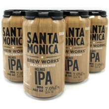 Santa Monica Brew Works Inclined IPA 12oz 6 Pack Cans