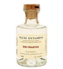Fluid Dynamics Dry Martini Cocktail 200ml