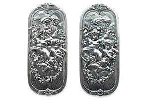 Victorian Door Push Plates (sold in pairs)