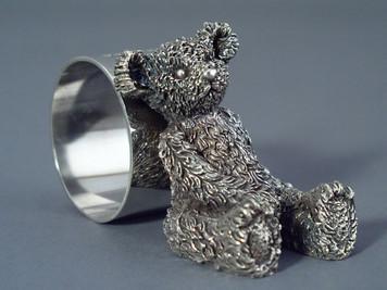Bear Figure Napkin Ring