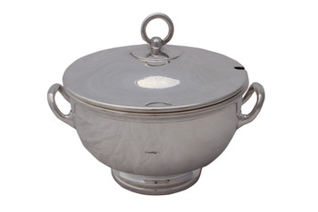 """Harrods"" Silver-Plated Soup Tureen"