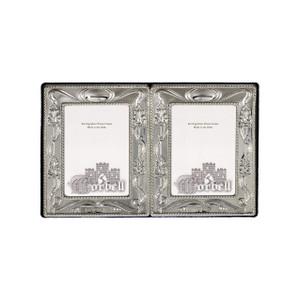 Charles Double Frame Sterling Silver w/ Velvet Back