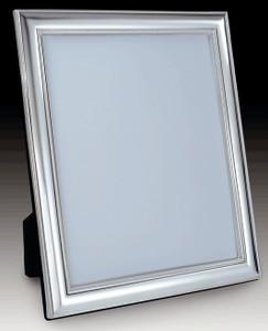 Frame Beaded Bevelled Mirror w/ Velvet Back 8 x 10