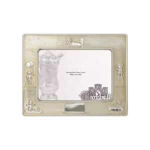 Frame Baby Sterling Silver w/ Velvet Back 3.5 x 5