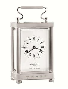 Carriage clock - 11 jewel, 8 day movement and key winder
