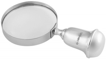 Desk magnifying glass. Magnification x 2