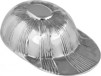 Jockey cap tea caddy spoon