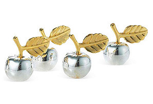 Apple Place Card Holders S/4