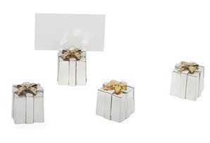 Present Place Card Holder S/4