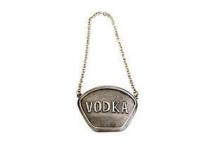 Classic Decanter Label Vodka