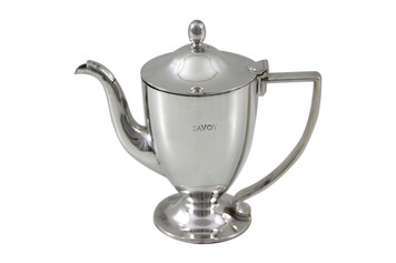 Savoy Round Long Spout Hotel Silver Coffee Pot Post 1960